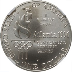 1996 D OLYMPICS ROWING S$1 MS reverse