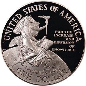 1996 P SMITHSON S$1 PF reverse