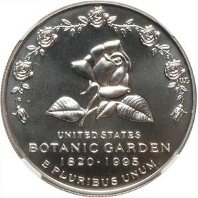 1997 P BOTANIC S$1 MS obverse