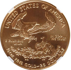 1998 EAGLE G$25 MS reverse