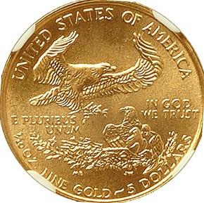 1998 EAGLE G$5 MS reverse