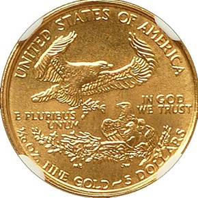 1999 EAGLE G$5 MS reverse