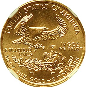 1999 W EAGLE WITH W G$5 MS reverse