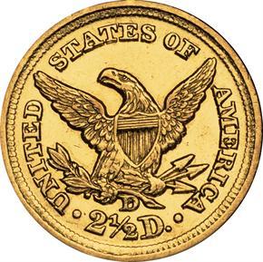 1850 D $2.5 MS reverse