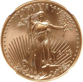 2000 EAGLE G$25 MS obverse