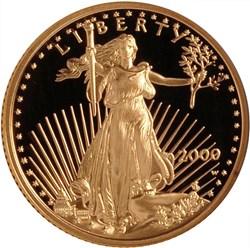 2000 W EAGLE G$10 PF obverse