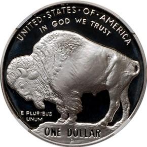 2001 P BUFFALO S$1 PF reverse