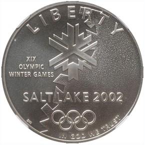 2002 P OLYMPICS S$1 MS obverse