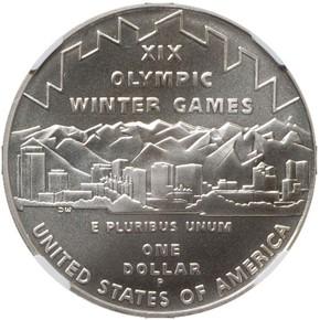 2002 P OLYMPICS S$1 MS reverse