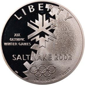2002 P OLYMPICS S$1 PF obverse