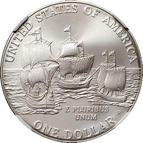 2007 P JAMESTOWN S$1 MS reverse
