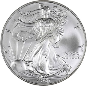 2007 EAGLE S$1 MS obverse