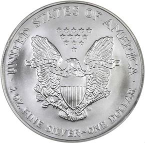 2007 EAGLE S$1 MS reverse