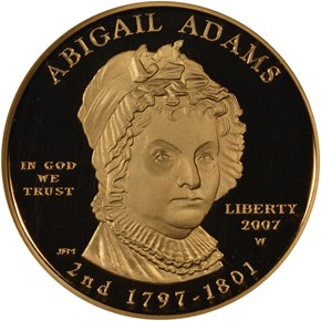 2007 W ABIGAIL ADAMS G$10 PF obverse