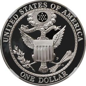 2008 P BALD EAGLE S$1 PF reverse