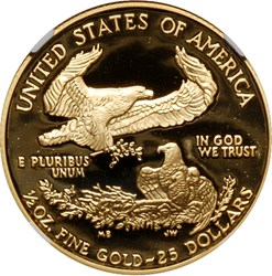 2008 W EAGLE G$25 PF reverse