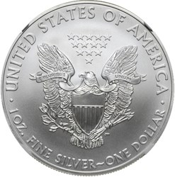 2008 EAGLE S$1 MS reverse