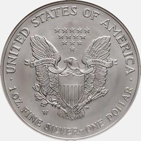 2008 W EAGLE REVERSE OF 2007 S$1 MS reverse