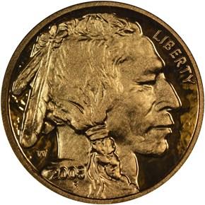 2008 W BUFFALO .9999 FINE G$5 PF obverse