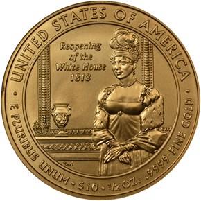 2008 W ELIZABETH MONROE G$10 MS reverse