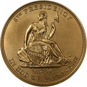 2008 W VAN BUREN'S LIBERTY G$10 MS obverse