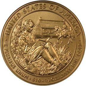 2008 W VAN BUREN'S LIBERTY G$10 MS reverse
