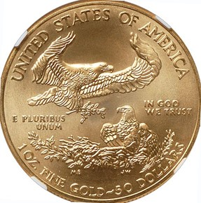2009 EAGLE G$50 MS reverse