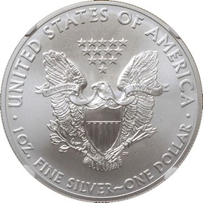2011 EAGLE S$1 MS reverse