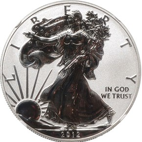 2012 S EAGLE REVERSE PF SAN FRANCISCO EAGLE SET S$1 PF obverse