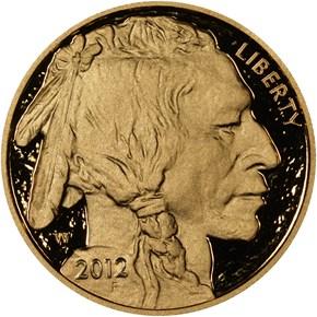 2012 W BUFFALO .9999 FINE G$50 PF obverse
