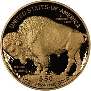 2012 W BUFFALO .9999 FINE G$50 PF reverse