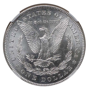 1878 7TF REV OF 78 S$1 MS reverse
