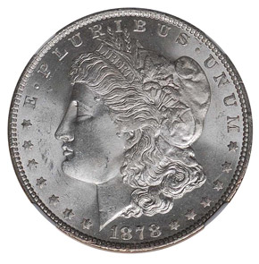 1878 7TF REV OF 79 S$1 MS obverse