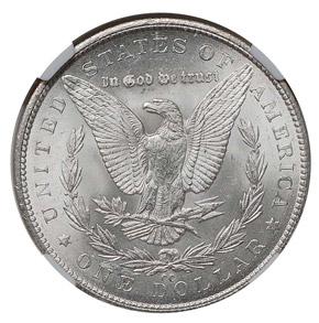 1879 CC S$1 MS reverse
