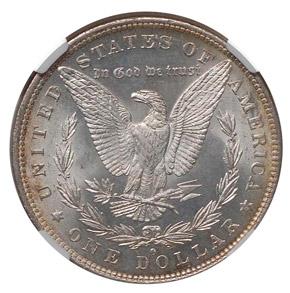 1882 O/S S$1 MS reverse