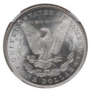1883 S$1 MS reverse