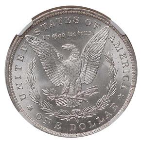 1884 O S$1 MS reverse