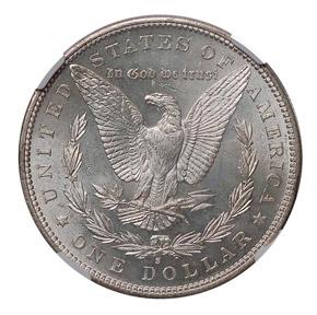 1884 S S$1 MS reverse