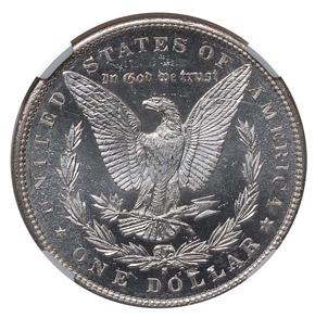 1890 S S$1 MS reverse