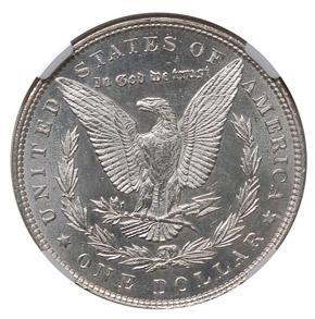 1892 S$1 MS reverse