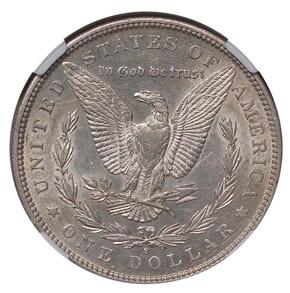 1892 S S$1 MS reverse