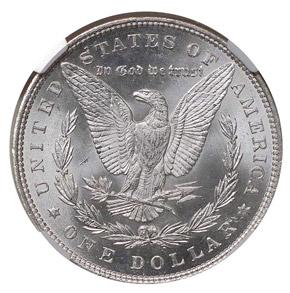 1893 S$1 MS reverse