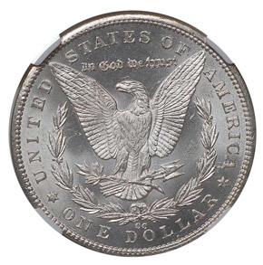 1893 CC S$1 MS reverse