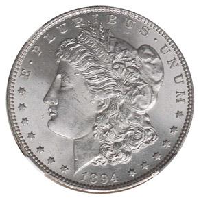 1894 S$1 MS obverse