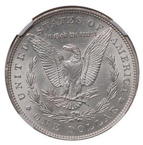 1894 S$1 MS reverse