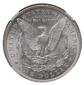 1895 O S$1 MS reverse