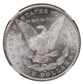 1897 S S$1 MS reverse