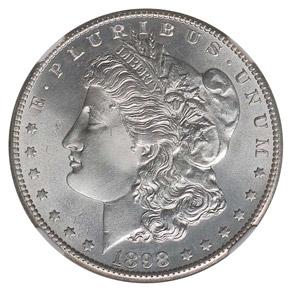 1898 S S$1 MS obverse