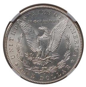 1898 S S$1 MS reverse