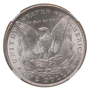 1900 O S$1 MS reverse